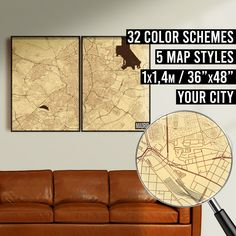 FREE SHIPPING WITHIN EU AND USA  We really love maps. Map prints, map posters, map illustrations. Our map designs consist 32 color schemes and 5 styles to choose from. Maps are very detailed and fully customizable if needed.    #mapprint #mapart #citymap #citymapprint #citymapposter #mapwallart #mapposter Map Posters, City Map Poster, Map Wall Art, Map Art, Map Illustrations, Simple Poster, Custom Map, Us Map, Map Design