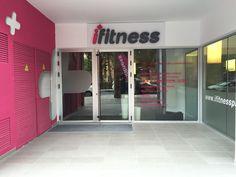 Entrada al gimnasio #ifitness #gimnasiobenidorm