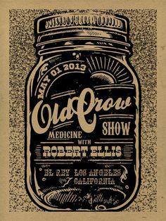 GigPosters.com - Old Crow Medicine Show