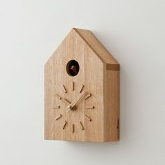 wooden cuckoo clock! by more trees. http://www.more-trees.org/
