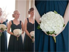 Piedmont Club rustic southern wedding with a Scottish accent in Haymarket, Virginia by Mollie Tobias Photography. Navy blue and white wedding inspiration.
