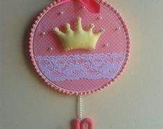Bastidor Porta Maternidade Princesa