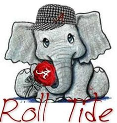 From infancy, let their first words be Roll Tide!!