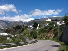 road from #murchas to #talara #lecrin #valley andalucia
