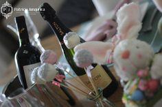 Mesa decorada para páscoa por Patricia Junqueira {Home, Receber & Baby} com vinho Salton decoraçÃO pascia