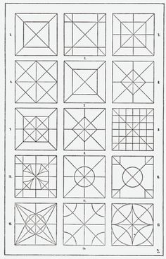 "From, ""A Handbook of Ornament"". 1898 by Franz Sales Meyer. I wonder if this book… Islamic Art Pattern, Pattern Art, Pattern Design, Geometry Pattern, Geometry Art, Zentangle Patterns, Quilt Patterns, Zentangles, Geometric Designs"