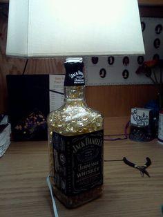Sweet! A Jack Daniels Lamp!