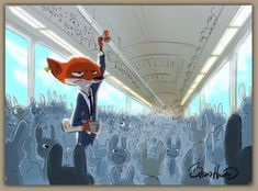 Concept Art: Zootopia by Byron Howard