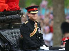 """<a href=""""http://www.wonderwall.com/movies/Prince-Harry-481.celebrity"""">Prince Harry</a> looked dapper at the Trooping the Colour ceremony in honor of Queen Elizabeth's 90th birthday at Buckingham Palace in London on June 11, 2016."""