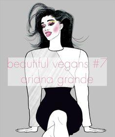 Beautiful vegans #arianagrande #vegan #veganism #plantbased