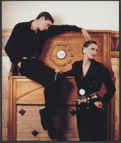 Inès de la Fressange (+ brother Ivan) - Chanel Ad 80's Shot in Villa Arnaga, Cambo les Bains, France