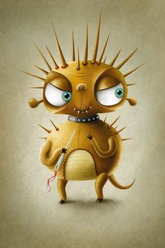 Monsters by Maciej Szymanowicz, via Behance