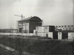 HangarBicocca - Il Cubo in costruzione 1955 #milano #architettura #storia#fotografia