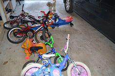 Do it Yourself Garage Bike Rack