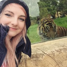 ME WITH A TIGER