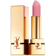 Yves Saint Laurent Rouge Pur Couture ($32) found on Polyvore