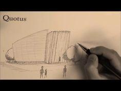 """Nono appuntamento di """"DisegnandoEXPO"""": il padiglione dell'Irlanda!  Entrando nel Padiglione Irlanda, i visitatori intraprendono un viaggio indimenticabile attraverso la campagna irlandese e lungo la selvaggia la costa Atlantica.  (http://www.expo2015.org/)"""