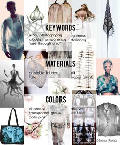 Eclectic Trends: My lifestyle trends AW 2015/16 for Global Color Research: SCANNED!