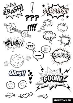 "These comic effects will be added to enhance the character's emotions. Eg: The close up of the shocked ""Kia Si"" will have the Exclamation marks pop up by the eyes."