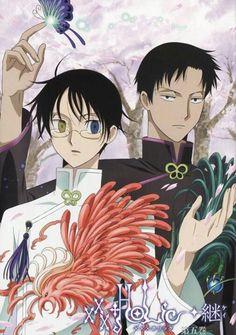 Anime XXXholic  No such thing as too many pictures of Watanuki & Doumeki