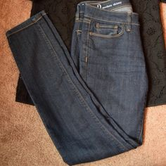 New Loft Ann Taylor Modern Skinny Jeans New without tags. Waist measures at 28 inches  inseam 30 inch. Last picture is to see fit, it is not that color. LOFT Jeans Skinny