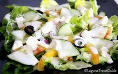 Greek Salad from Chubby Habbi's Mediterranean Grill Greek Salad, Feta, Grilling, Good Food, Cheese, Crickets, Healthy Food, Yummy Food