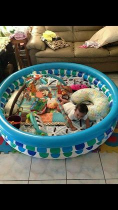 Genius Parenting Hacks For Safer Parenting – hacks baby diy The Babys, Baby Play Areas, Baby Gate Play Area, Baby Life Hacks, Mom Hacks, Everything Baby, Baby Needs, Baby Time, Infant Activities