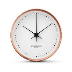 Georg Jensen Henning Koppel copper clock.