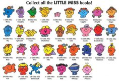 Little Miss and Mr. Men Book Series - The Education Desk