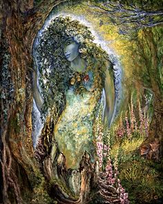 """Spirit of the Forest 3"" par Josephine Wall"