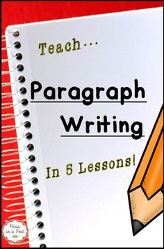 Paragraph Writing Unit: When I first started teaching I found numerous paragraph writing resources. I had bookshelves full! However, each of those resources failed to give me a daily, step-by-step plan, as to how to teach paragraph writing. Summary Writing, Writing Plan, Paragraph Writing, Narrative Writing, Writing Workshop, Opinion Writing, Writing Rubrics, 7th Grade Writing Prompts, Fifth Grade Writing
