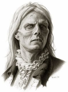Miles Teves - Concept art Interview with a Vampire - Lestat Swamped.
