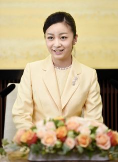 imperialfamilyofjapan:  Princess Kako, younger daughter of Prince Fumihito and Princess Kiko and granddaughter of Emperor Akihito and Empress Michiko, turned 20, December 29, 2014; to mark her birthday, she gave a press conference to the media.