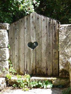 Revive your garden for spring Garden Gates And Fencing, Fence Gate, Garden Entrance, Garden Doors, Old Gates, Dream Garden, Garden Planning, Garden Furniture, Backyard Landscaping