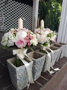 Flowers of Soul: Lumanari de nunta Candles, Plants, Wedding, Valentines Day Weddings, Weddings, Planters, Mariage, Marriage, Plant