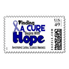 ALS Lou Gehrig's Disease HOPE 5 Postage. This great business card design is available for customization. All text style, colors, sizes can be modified to fit your needs. Just click the image to learn more!