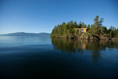 Picard Point Cabin - rustic vacation retreat on Lake Pend Oreille, in northern Idaho - pic 1 of 4