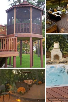 Ways to add lights, warmth and decoration to your deck.   archadeckwestcounty.com