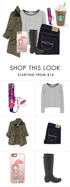 """""""April Showers ☔️"""" by kari-luvs-u-2 ❤ liked on Polyvore featuring Lilly Pulitzer, MANGO, Burberry, Abercrombie & Fitch, Casetify, Hunter and springishere"""
