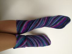 Ravelry: skeincharmer's Sock Challenge Cup: Variegated  Unusual construction Free knitting pattern socks