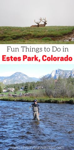 Are you planning a trip to Colorado and Rocky Mountain National Park? If so, you'll want to check out this guide to Estes Park, Colorado. Estes Park is the town right outside the entrance to Rocky Mountain National Park and is the perfect vacation spot. We will tell you where to stay in Estes Park, where to eat in Estes Park, things to do in Estes Park, and where to park in Estes Park, Colorado. Make sure you save this Estes Park guide to your travel board so you can find it later…