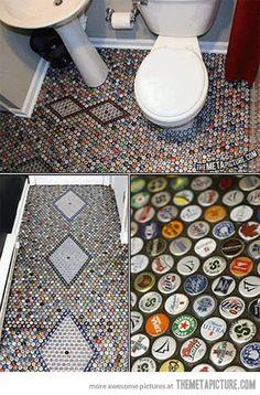 Bathroom for man cave?