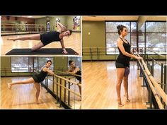 Why not try Barre for your workout today? Strengthen and firm up the entire body with this barre class! NO experience or barre needed. Ballet Barre Workout, Barre Moves, Barre Workout Video, Barre Exercises At Home, Cardio Barre, Insanity Workout, Pilates Workout, Butt Workout, Workout Videos