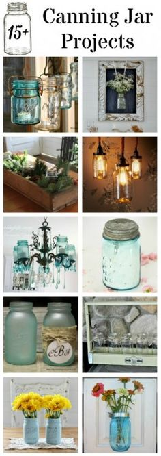 Farmhouse Friday #3 - Canning Jars - Knick of Time