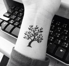 tree of Life! cute & small tattoo