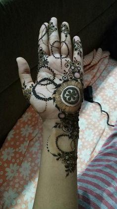Henna designs : Latest Mehendi pattern