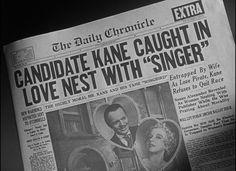 Citizen Kane (1941), Film Noir, Orson Welles,