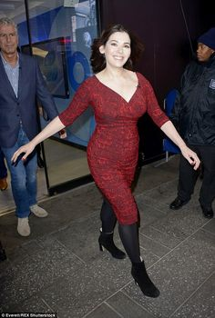 Happy again: Nigella appears relaxed and at ease in her new show, after a tumultuous few years
