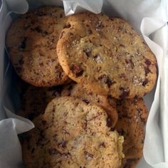 New York Times Chocolate Chip Cookies *