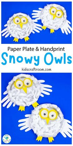 This PAPER PLATE SNOWY OWL CRAFT is so cute with its fluffy body, cupcake liner eyes and handprint wings. It's such a fun and easy winter craft for your preschoolers and elementary kids. #kidscraftroom #kidscrafts #wintercrafts#owlcrafts #snowyowls #paperplatecrafts #handprintcrafts #cupcakelinercrafts #preschoolcrafts Winter Crafts For Kids, Easy Crafts For Kids, Winter Fun, Toddler Crafts, Preschool Crafts, Sensory Activities Toddlers, Art Activities For Kids, Owl Crafts, Paper Plate Crafts